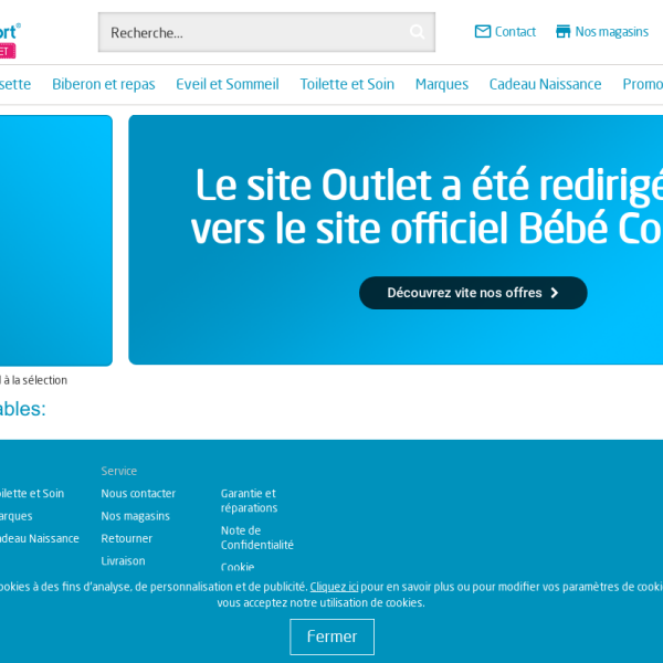www.bebeconfort-outlet.fr