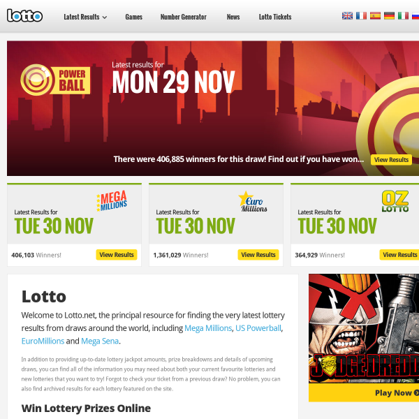 www.lotto.net